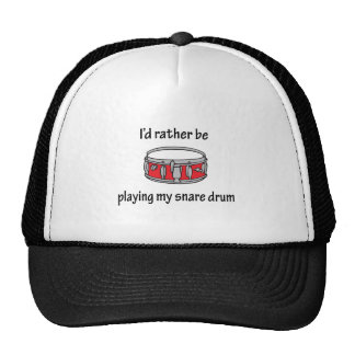 Playing My Snare Drum Trucker Hats