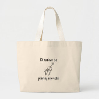 Playing My Violin Tote Bag