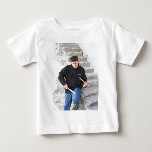 Playing on Stairs 2 Baby T-Shirt