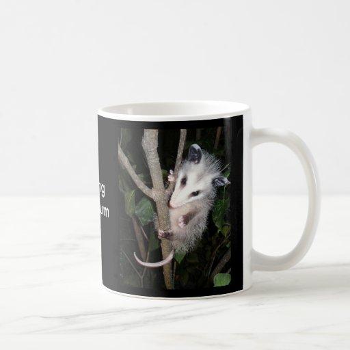 Playing Opossum Mug