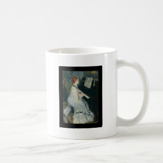 Playing Piano by Candlelight Coffee Mug