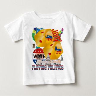 Playing-Politics-V-1 Baby T-Shirt