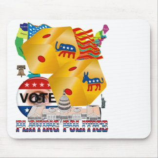 Playing-Politics-V-1 Mouse Pad