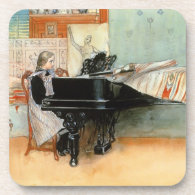 Playing Scales 1898 Drink Coasters