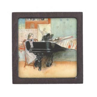 Playing Scales 1898 Keepsake Box