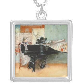 Playing Scales 1898 Necklace