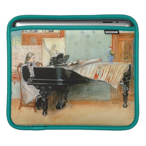 Playing Scales 1898 Sleeve For iPads