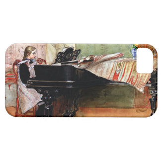Playing Scales - Carl Larsson artwork iPhone SE/5/5s Case