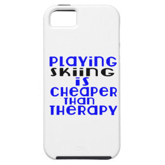 Playing Skiing Cheaper Than Therapy iPhone SE/5/5s Case