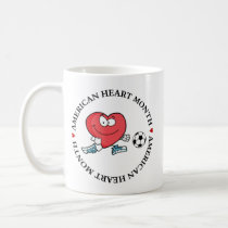 Playing Sports is Good for Your Heart Coffee Mug