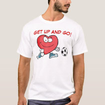 Playing Sports is Good for Your Heart T-Shirt