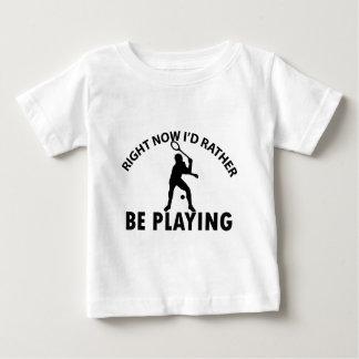 Playing  squash baby T-Shirt