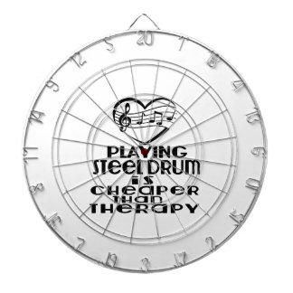 Playing Steel Drum Is Cheaper Than Therapy Dartboard