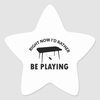 Playing the keyboard star sticker