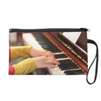 Playing the Piano Wristlet Purse