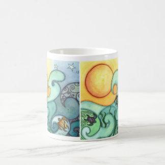 Playing the Waves Coffee Mug