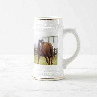 Playing thoroughbred horse Mug