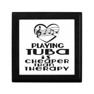 Playing Tuba Is Cheaper Than Therapy Gift Box