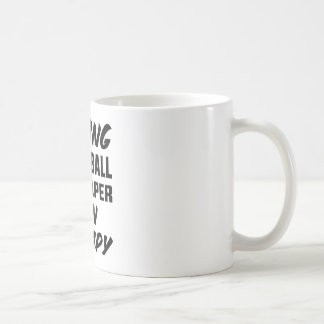 Playing Volleyball is cheaper than therapy Coffee Mug