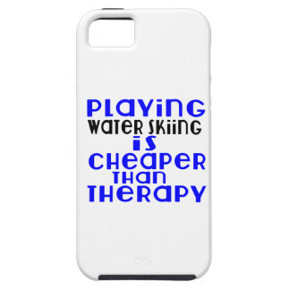Playing Water Skiing Cheaper Than Therapy iPhone SE/5/5s Case