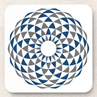 Playing With Circles Beverage Coaster