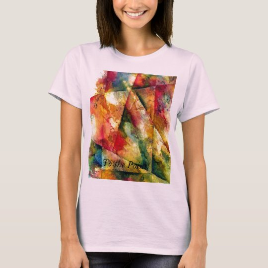 Playing with Colorful Angles T-Shirt