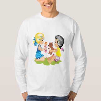 Playing With Dolls T-Shirt