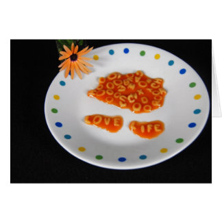 Playing With Food Card