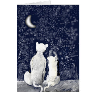 """Playing with Stars"" Greeting Card"