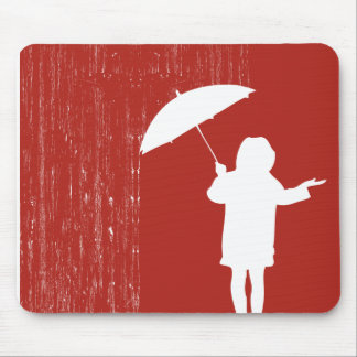 Playing with the rain mouse pad
