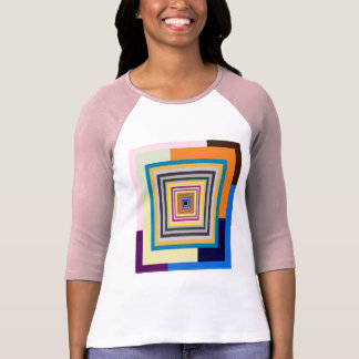 Playing with Thirty-eight different color blocks T Shirt