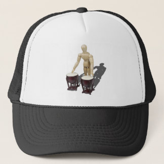 PlayingBongoDrums121210 Trucker Hat