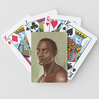 Playingcards africanos hermosos del ejemplo del ho barajas de cartas