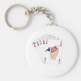 playingcards-candocards llavero redondo tipo pin
