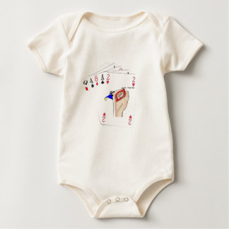 playingcards-candocards mamelucos de bebé