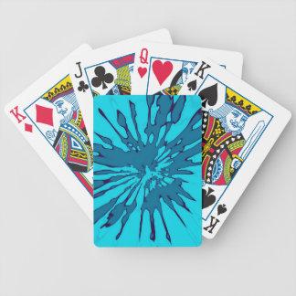Playingcards con diseño azul del extracto del chap baraja de cartas