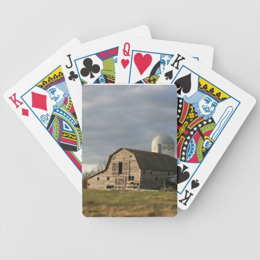 Playingcards de madera viejos de los regalos de la barajas de cartas