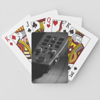 PlayingCards: Disco de vinilo en una placa Cartas De Póquer