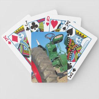 Playingcards viejos de la granja de los regalos baraja de cartas bicycle