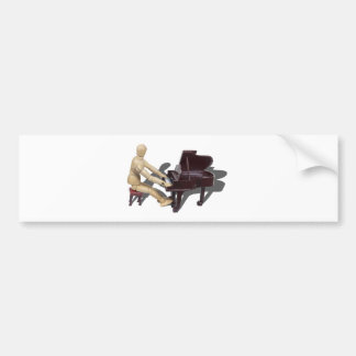 PlayingPiano121210 Bumper Sticker