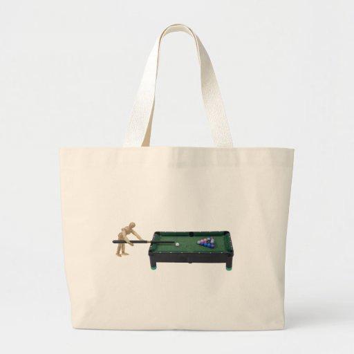 PlayingPool120509 copy Tote Bags