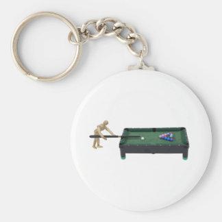 PlayingPool120509 copy Key Chains
