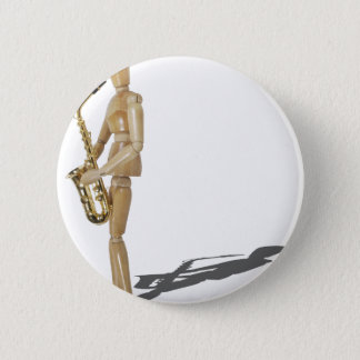 PlayingTheSaxophone020511 Pinback Button