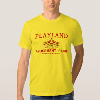 Playland Amusement Park, Willow Springs, Illinois T Shirt