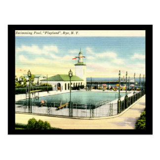 Playland, Rye, New York Vintage Postcard