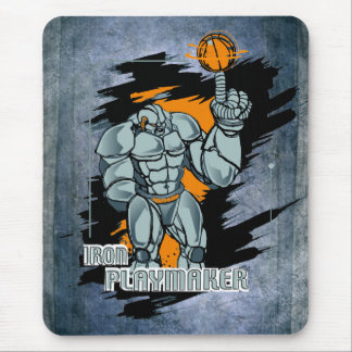 Playmaker Basketball Mouse Pad