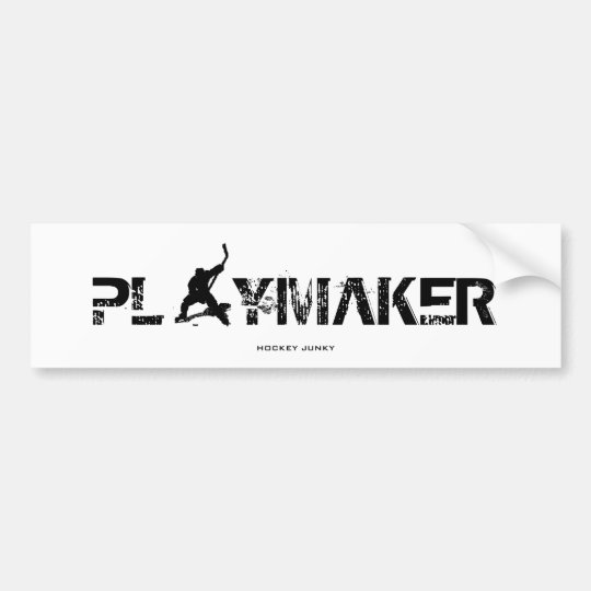 PLAYMAKER BUMPER STICKER