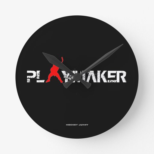 PLAYMAKER ROUND CLOCK