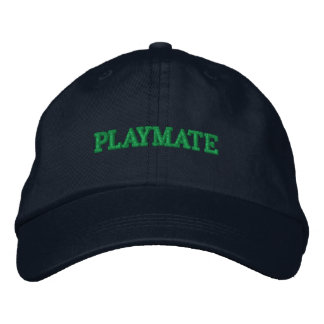 PLAYMATE EMBROIDERED BASEBALL HAT
