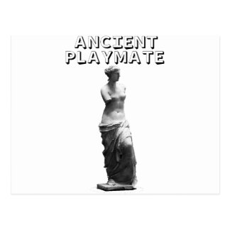 Playmate of the ancient postcard